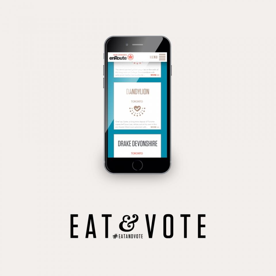 Eat & Vote