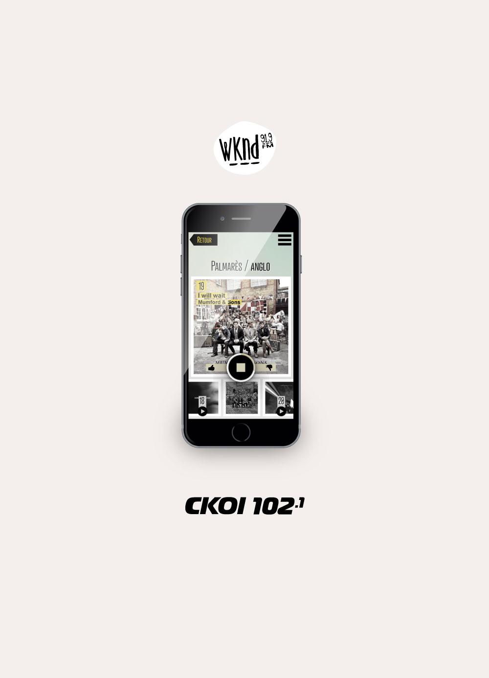 WKND & CKOI app